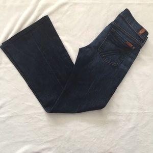 7FAMK Dojo Jeans Sz 25
